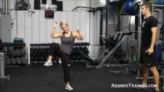 Weight Loss and Cardio Workout with the Resistance Bands | Kinetic Bands