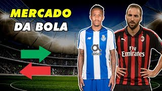 EDER MILITÃO NO REAL MADRID E HIGUAIN DE SAÍDA DO MILAN - MERCADO DA BOLA