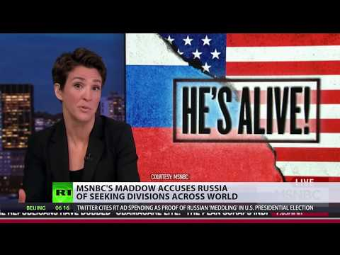 Russia divides US: How MSNBC lies to its viewers