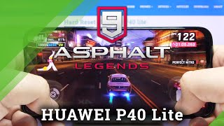 Asphalt 9 on Huawei P40 Lite - Gaming Performance Checkup