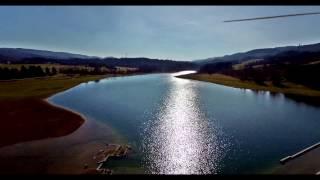 Vol drone Phantom 3 4K (Ancienne Route Samognat Matafelon)