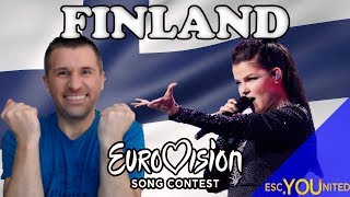 Finland in Eurovision: All songs from 1961-2018 (REACTION)