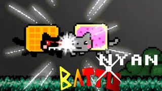 Repeat youtube video NYAN BATTLE ! (Nyan cat vs Tac Nayn)