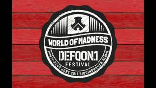 Coone vs Ruthless LIVESET @ Defqon.1 Festival 2012 (HD)