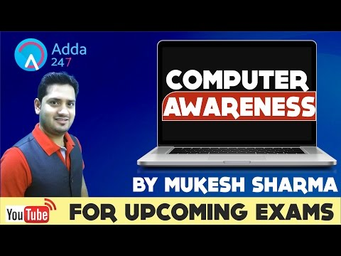 COMPUTER AWARENESSS FOR UPCOMING BANK EXAMS