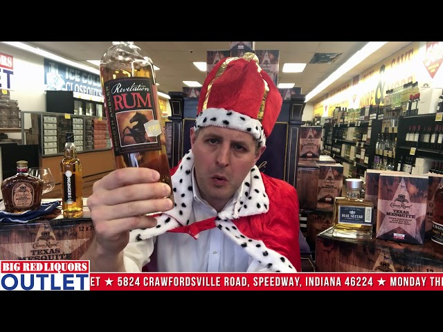 Revelation Rum at the Big Red Liquors Outlet Store.