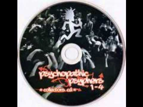 Psychopathic Psypher Collector's CD 1 - 4 Full CD (Twiztid/ICP/Blaze/ & More)