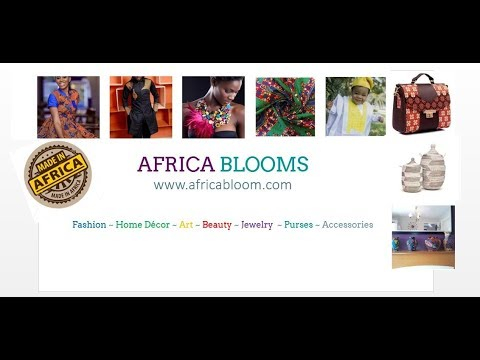 Africa Blooms | Shop & Sell African Fashion & Handmade Crafts | Ships Worldwide| www.AfricaBloom.com