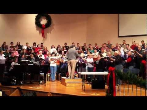 Cary Community Choir Sings Hallelujah Chorus from Handel's Messiah