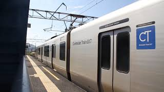 【JR九州】九817系JR鹿児島本線隈之城駅発車