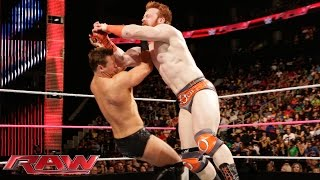 Sheamus vs. The Miz: Raw, Oct. 13, 2014