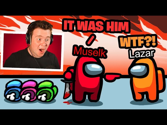 100% Imposter Win-Rate in Among Us! w/ Lazar, Courage & more
