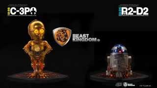 Egg Attack Statue - EA-015 Star Wars Episode V – R2-D2、EA-016 – C-3PO