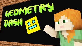 Monster School: Geometry Dash -- Cubic Minecraft Animation