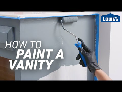 how-to-paint-a-vanity- -easy-bathroom-updates