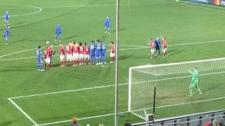 Ростов - Бавария - 3:2. Победный гол. Взгляд с Южной трибуны (23.11.2016)