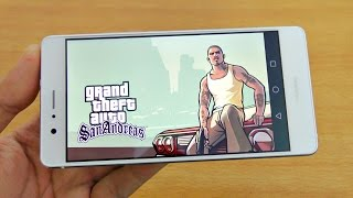 Huawei P9 Lite Gaming Review GTA San Andreas! (4K)