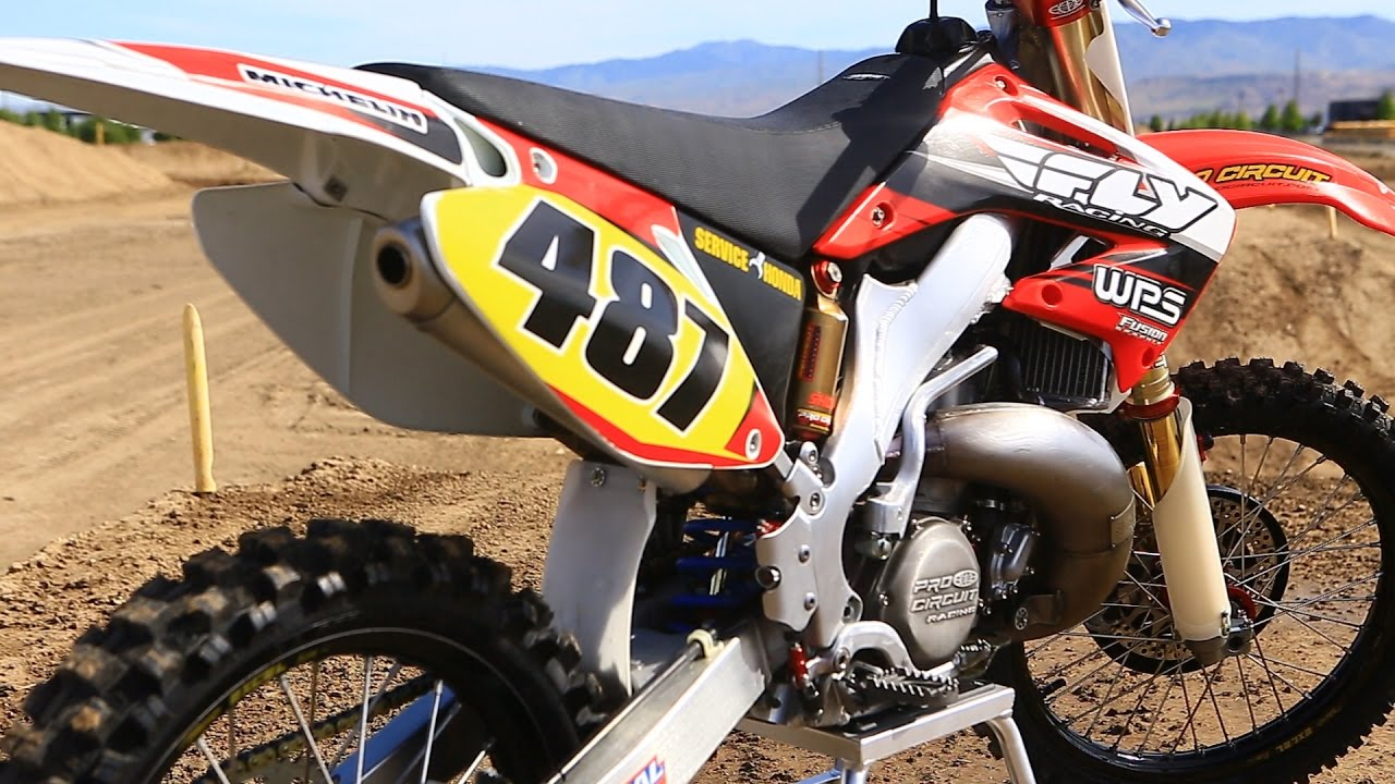 Pro Circuit Cr500 Raw Dirt Bike Magazine Youtube