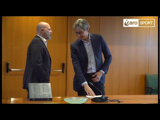 Icaro Sport. Stefano Bonaccini commenta la promozione del Rimini FC in C