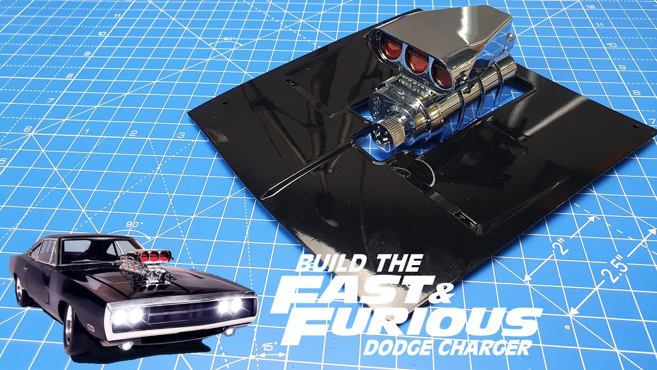 No 1-15//Folder FAST /& Furious-build you the legendary Dodge Charger R//T