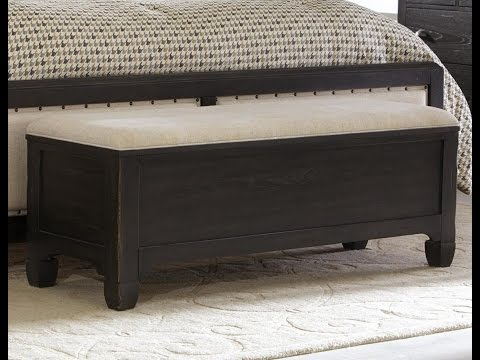 barn bed j shop bedroom end tufted furniture pottery of bench seating lorraine benches