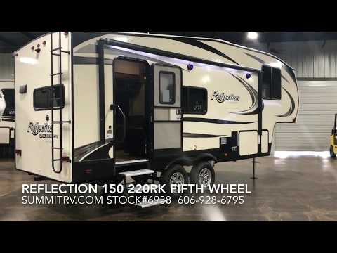 2018 Grand Design Reflection 150 Series 220RK Fifth Wheel at Summit RV in Ashland, KY