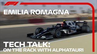The Components Steering AlphaTauri To Success | F1 TV Tech Talk | 2021 Emilia Grand Prix