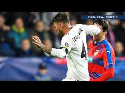 La nueva 'cochinada' de Sergio Ramos que queda impune en la Champions League