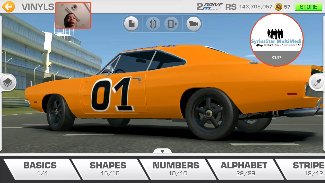 Dodge car tuning part 3 - Real Racing 3 Tuning Tutorial General Lee 1969 Dodge Charger Rt