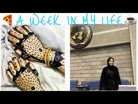 A WEEK IN MY LIFE IN NAIROBI | UN VISIT | HENNA| ASSUMPTIONS ABOUT ME?