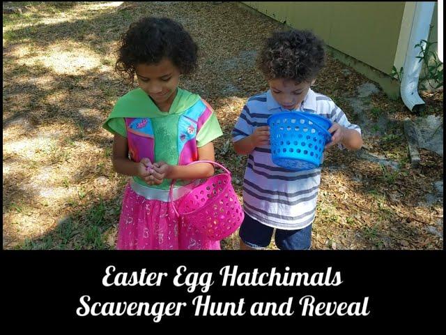 Easter Egg Hatchimals Scavenger Hunt and Reveal PLUS Blooper