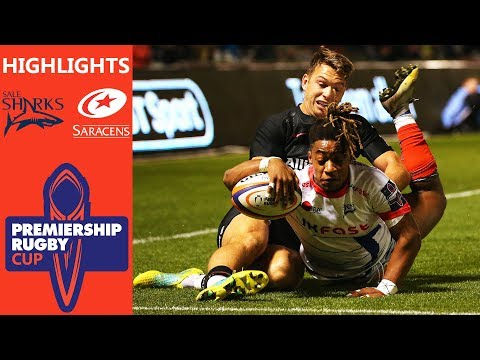 Sale Sharks v Saracens   Points shared in Entertaining Draw!   Premiership Rugby Cup