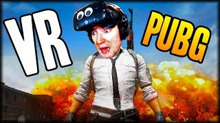PUBG IN VIRTUAL REALITY | BAM VR Battle Royale (Bullets and More VR)