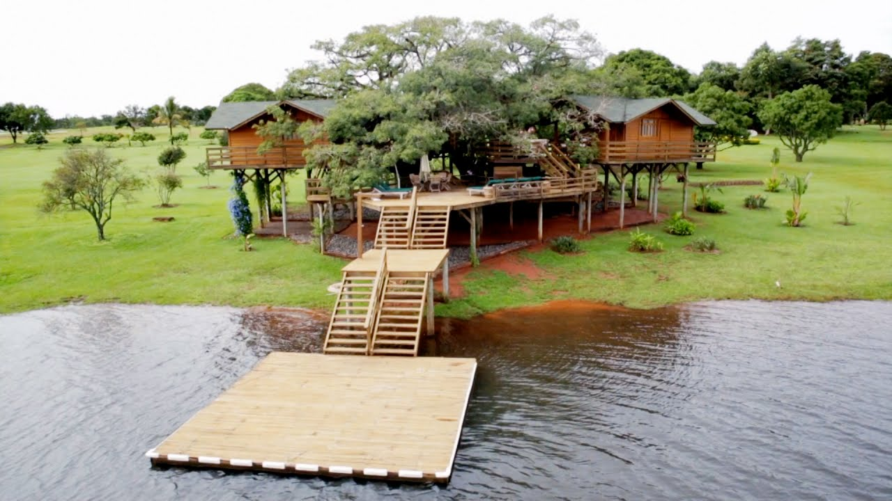 pete nelsons got a little treehouse envy youtube - Biggest Treehouse In The World 2015