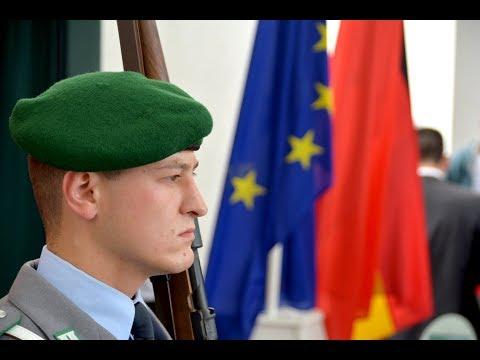 Ehrenkompanie -Chinas Ministerpräsident Li Keqiang -Militärische Ehren