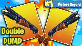 HOW TO DOUBLE PUMP! FORTNITE BATTLE ROYALE BEST STRATEGY! (FORTNITE New Map Update)