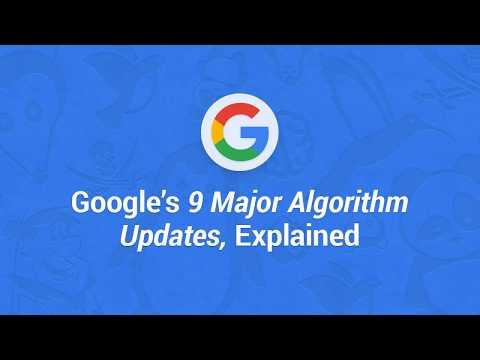 Major Google Algorithm Updates Explained