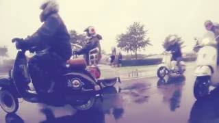 SLUK | Cleethorpes Scooter Rally ride-in 2016 - the wet one