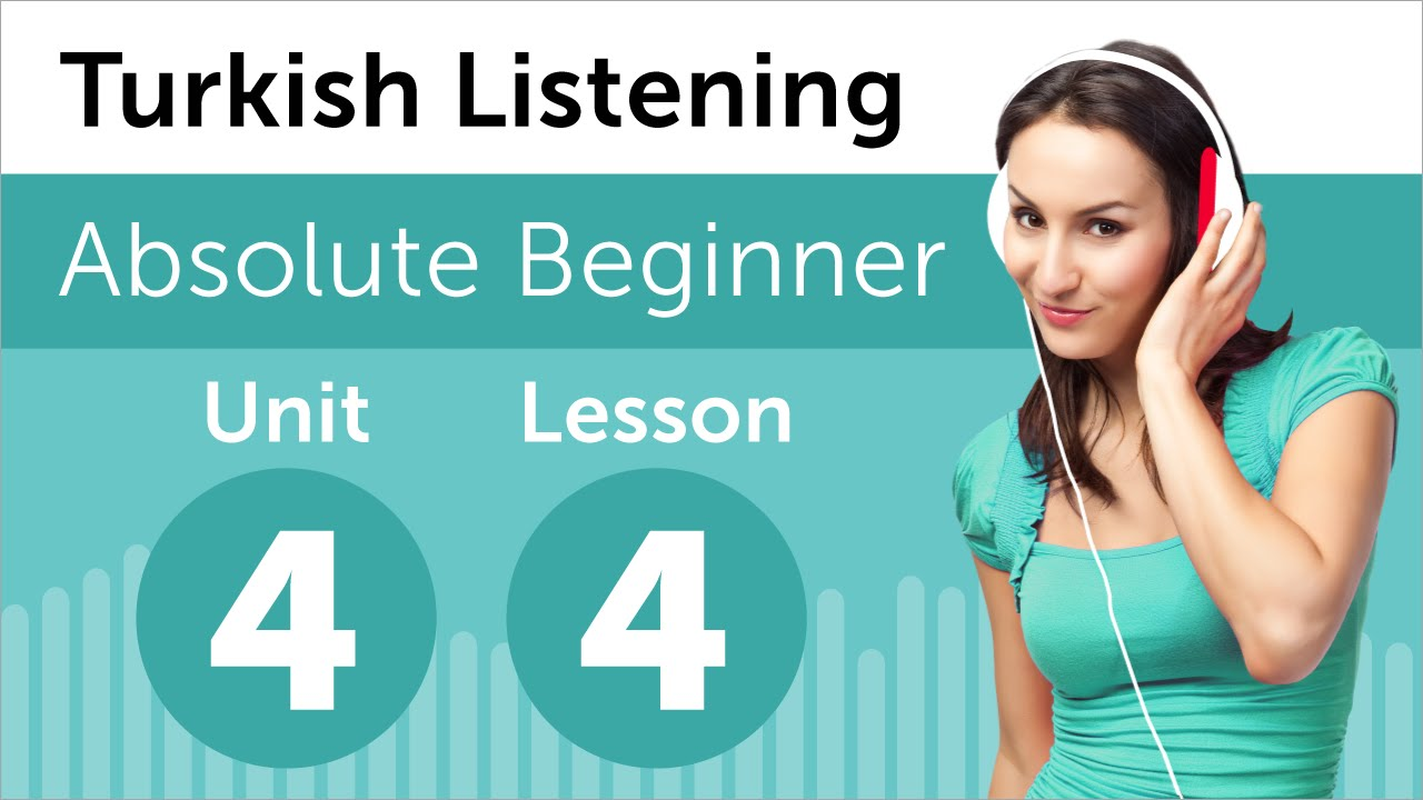 Turkish Listening Practice - Talking About a Party in Turkish