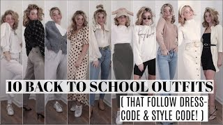 Dress-Code & Style approved! Back to school Outfit Ideas