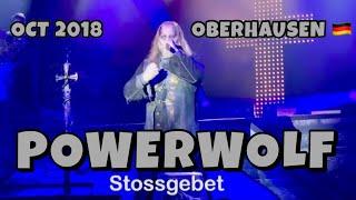 Powerwolf - Stossgebet - Oberhausen Turbinenhalle 2018.10.27 4K LIVE - Wolfsnächste Tour 2018