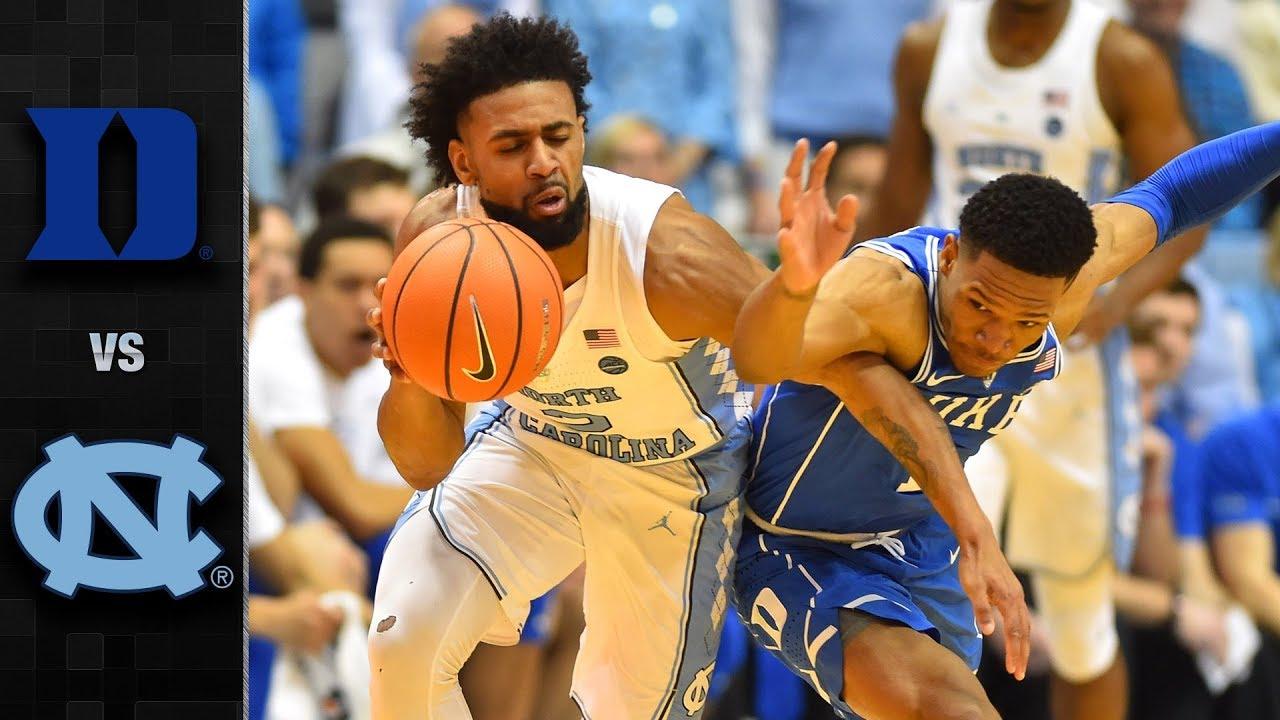 Image result for duke north carolina basketball game