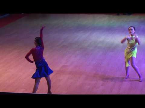 2017 Hanoi Open DanceSport Championship | Emily Ng | Samba