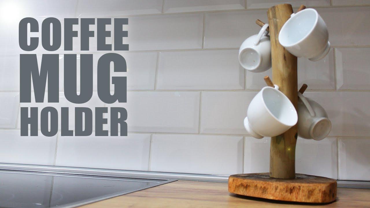 woodworking projects diy coffee mug holder