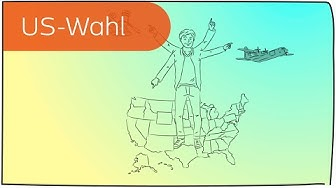 US-Wahlen (Präsidentschaftswahlen) in 3 Minuten erklärt