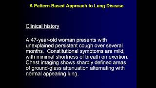 Classic Lectures in Pathology: Lung Pathology - A Video CME Teaching Activity