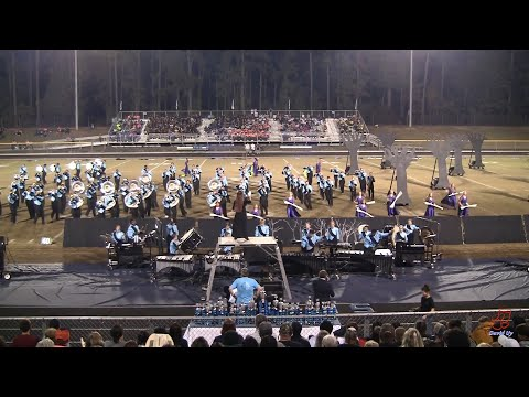 Union Pines High School Marching Vikings at Union Pines 10/26/2019