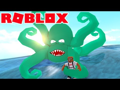AN OCTOPUS ATE ME IN ROBLOX