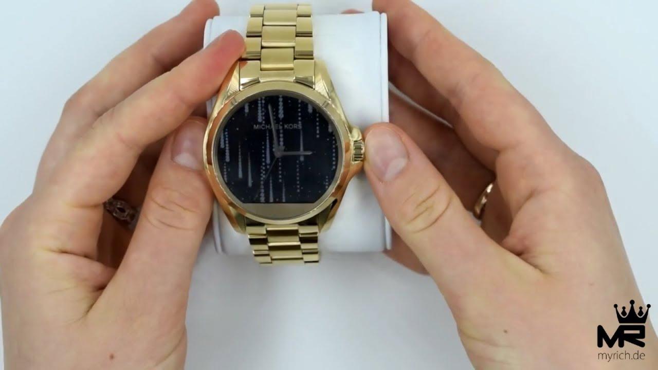 Michael Kors Access Damenuhr Smartwatch Bradshaw MKT5001 Unboxing
