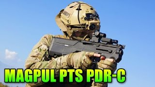 Airsoft Magpul PTS PDR-C Extended Grip Gameplay